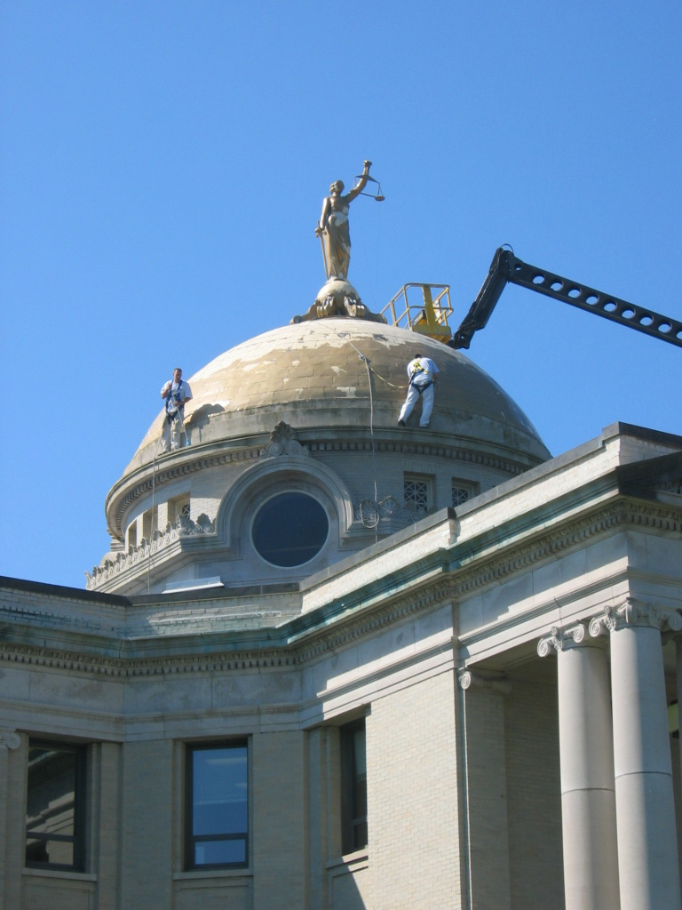 Madison County Courthouse - Dome and Façade Restoration