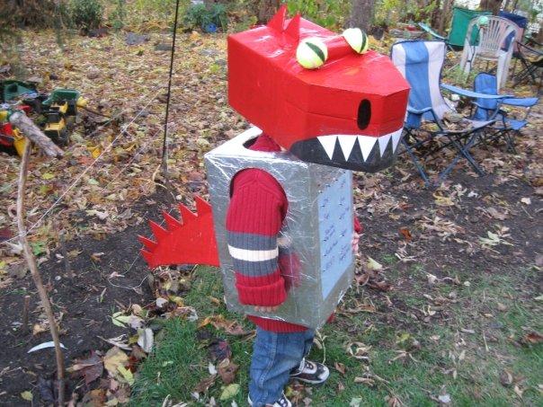 #2 as a Robot Dragon