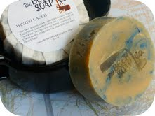 Winter Lager Beer Soap