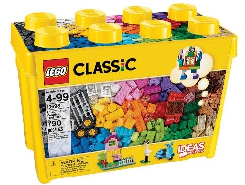 If you haven't already invested in  Lego , it's never to early to get started! With  Duplo for the youngest , and  Lego kits  for older kids and adults, there is really something for everyone in the Lego catalogue, even  robotics !