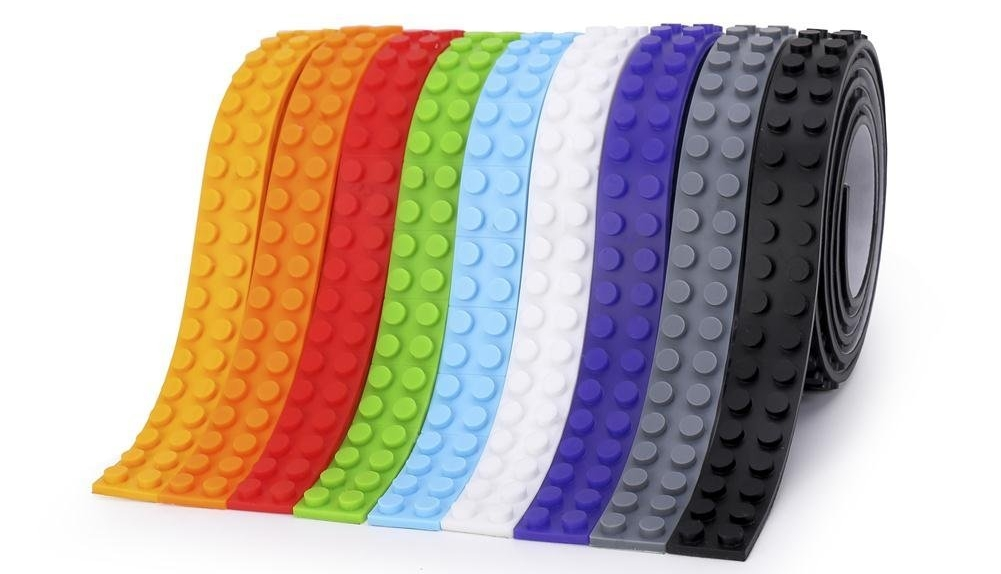 Already have Lego? I can't think of a better stocking stuffer than this  self-adhesive building block tape  from SuSenGo! Use this to create building surfaces on walls, tables, ceilings -- the possibilities are endless!