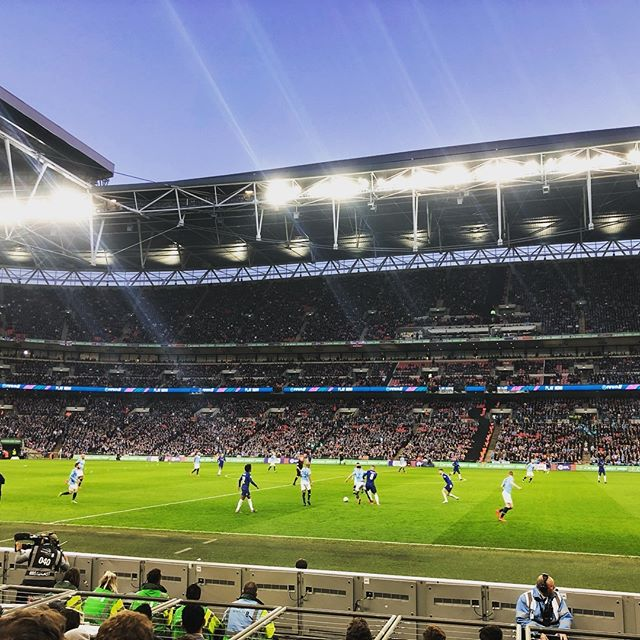 A fitting way to end the Carabao sporting year. Chelsea vs Man City at Wembley. Need I say more? Yes, drink more Carabao. #carabao #leaguecup #mancity #chelsea #carabaocup #delicious