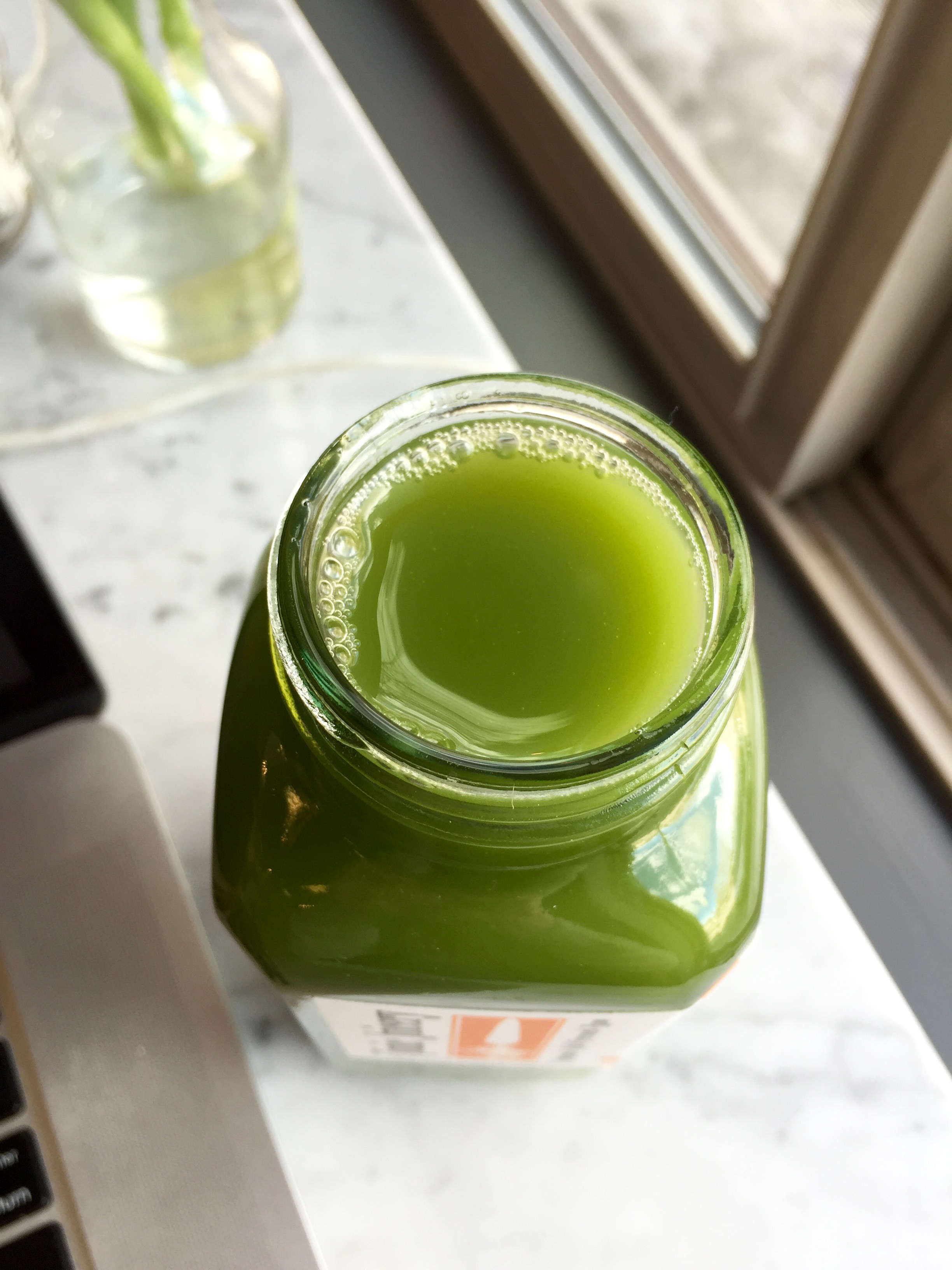 Green juice really is pretty to look at isn't it?