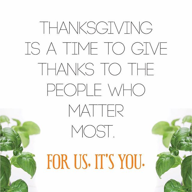 Thank you for making us into the juicery we are today. We are so honored to share this journey with you. In celebration of #Thanksgiving, Tonic Juicery will be closed Thursday, November 24th through Sunday, November 27th for Thanksgiving Weekend. Normal business hours will resume Monday, November 28th. Healthy Regards, Micah & Lindsay #realpeoplewhojuice #tonicjuicery