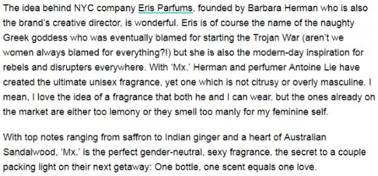 ERIS PARFUMS Mx. Eau de Parfum featured in Huffington Post (September 9, 2017).png