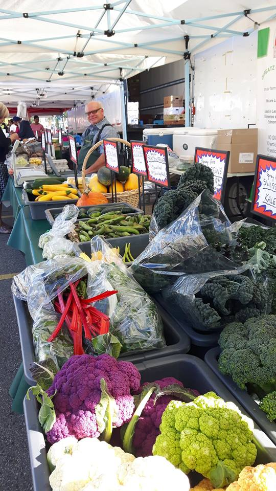 Dargatz Family Farms has a beautiful spread of fresh vegetables to brighten up any meal.