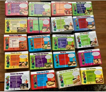 A colorful stack of recipe cards, ready for the busy season ahead!