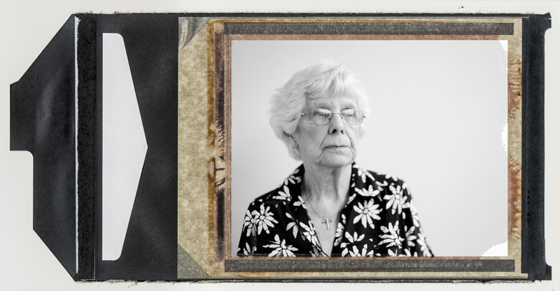 """Alice Uhriniak worked as a switchboard operator in the telephone office of Donora in October of 1948. On one of the first and worst days of the crisis she started her shift at 7 am. As soon as she got in the door the women that worked the night turn said, """"Hurry up get your headset on everybody is dying."""" Uhriniak points out that there was no 911: the local switchboard lit up with people calling doctors, and the doctors trying to get people to the hospitals. As news spread, out-of-town relatives were calling in to get news. © Annie O'Neill 2015"""