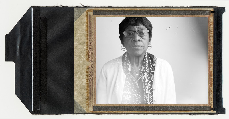 """Marie Gardner lived right next to the zinc plant. She was thirteen years old in October 1948 and was a housekeeper for one of the bosses of the mill. """"I just thought it was just a heavy fog—F-O-G. We never heard of smog. I remember having a sweet taste in my mouth from the air and I remember walking home in that crap. But I don't' think it affected me much because I was young and did not smoke."""" © Annie O'Neill 2015"""