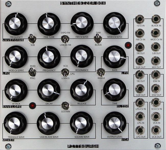 Synthesizer Box Pittsburgh Modular Synthesizers