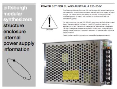 Power Set EU and AUS