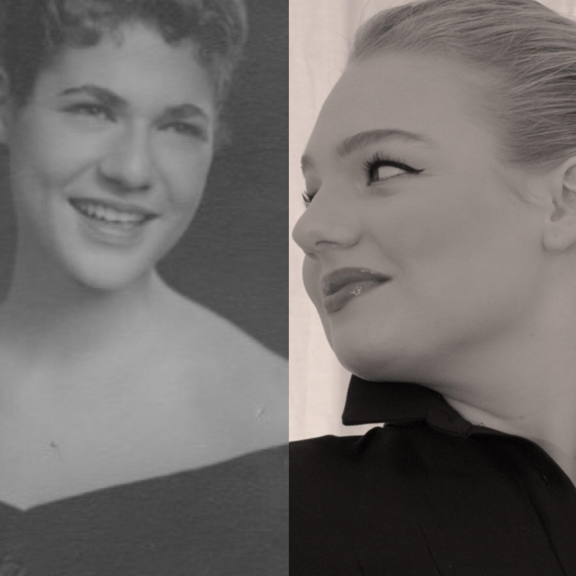 When Sally (age 22) met Sophie (age 22). Susan (not 22) is in between.