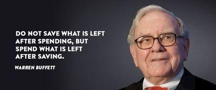 Buffett on Saving