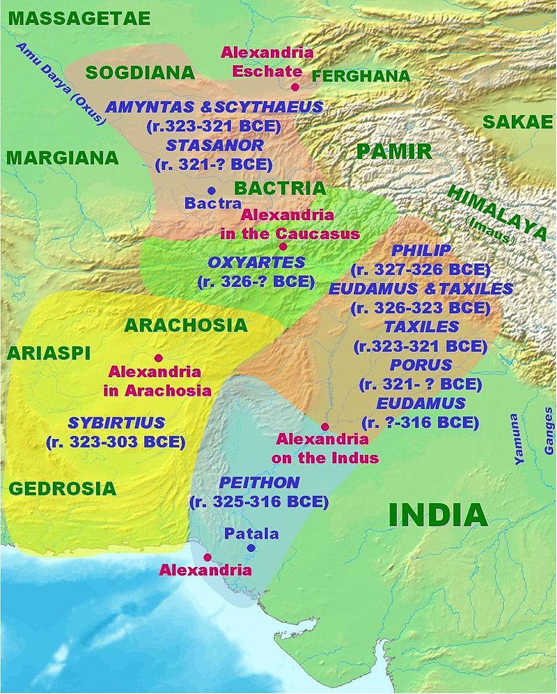 Macedonian Satrapies in India