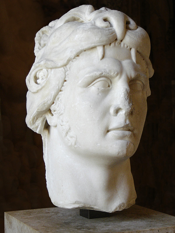 Bust of Mithridates in the Louvre