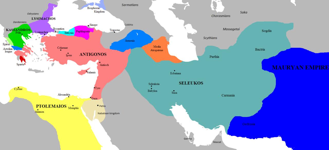 Empires of the Diadochi 303 BC