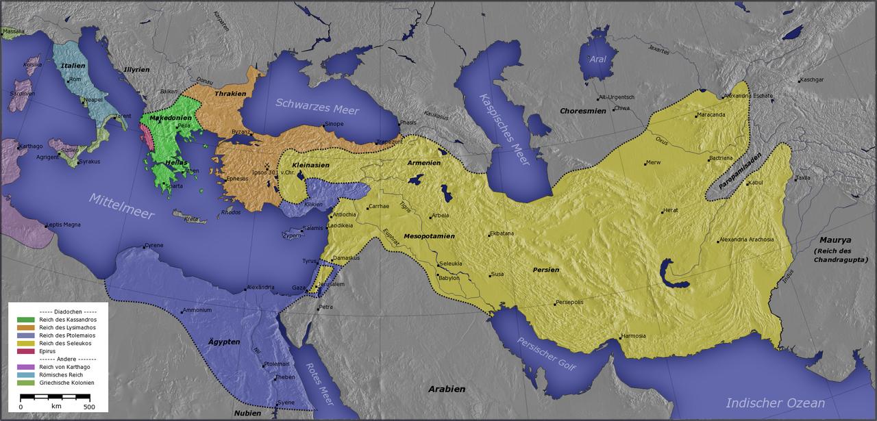 Empires of the Diadochi 301 BC