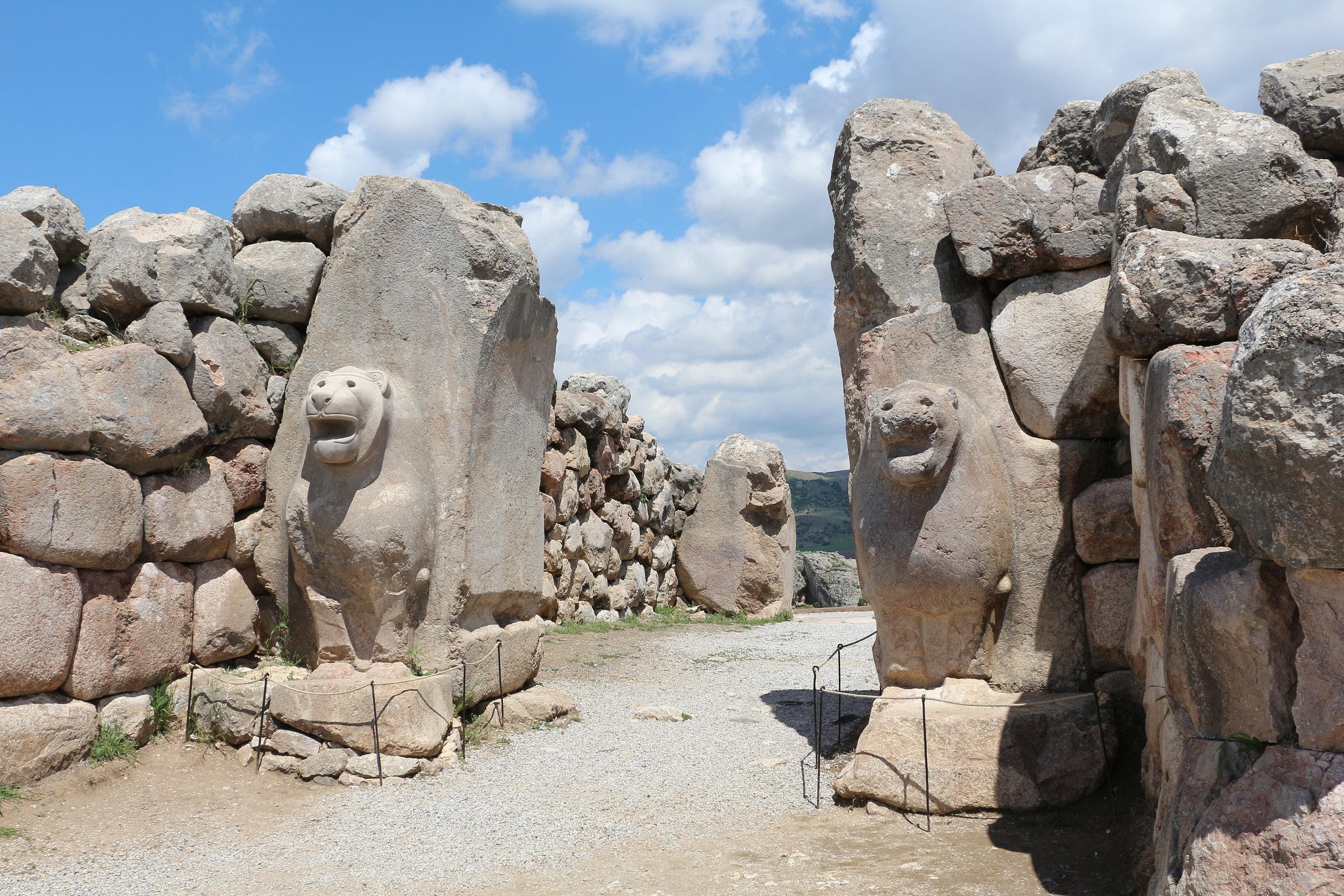 Hattusa's Lion Gate