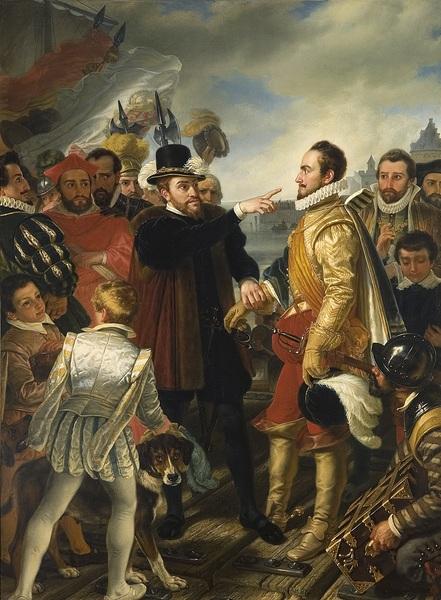 Philip's departure, berating William