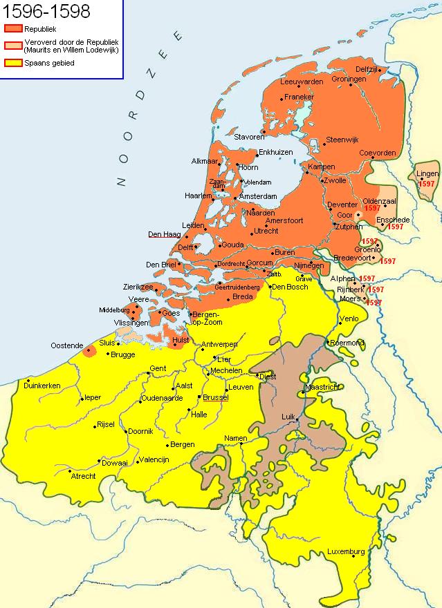 Dutch Republic 1596-98
