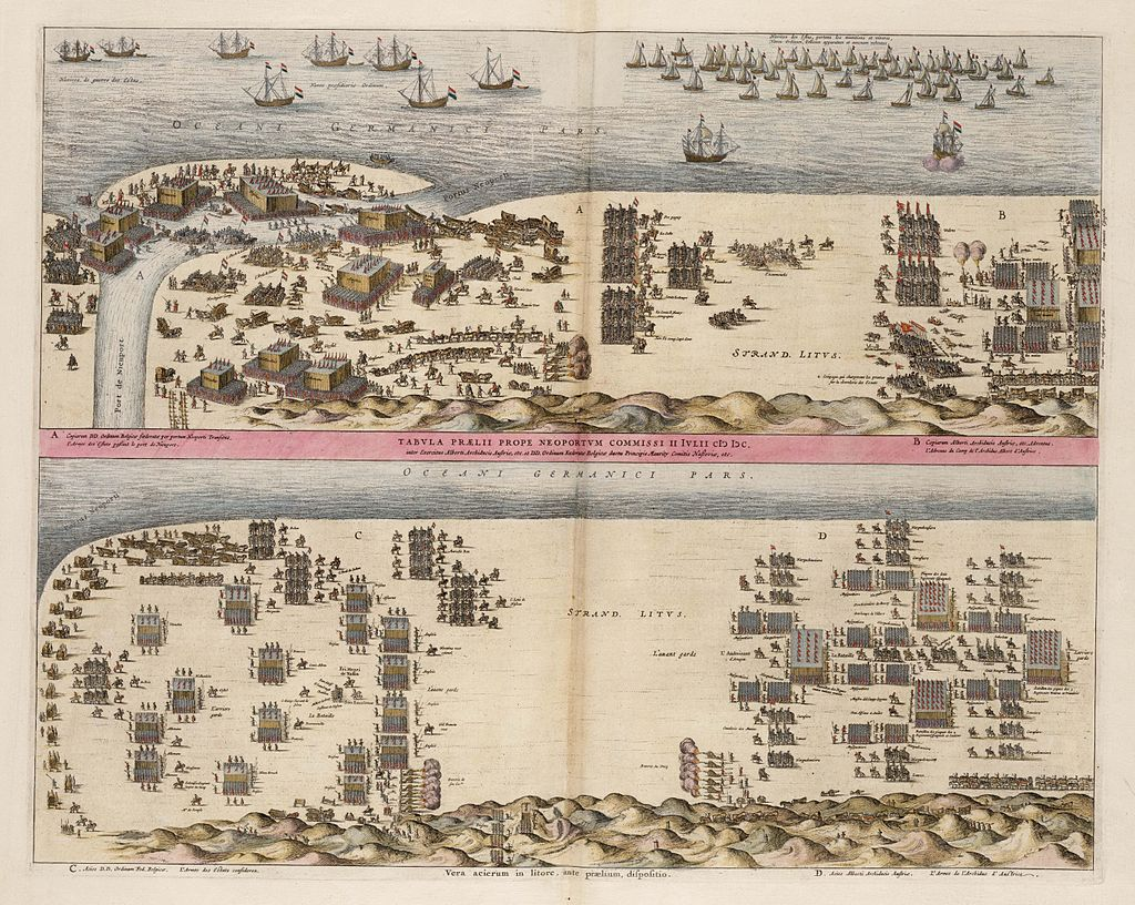 Battle of Niewpoort Depiction