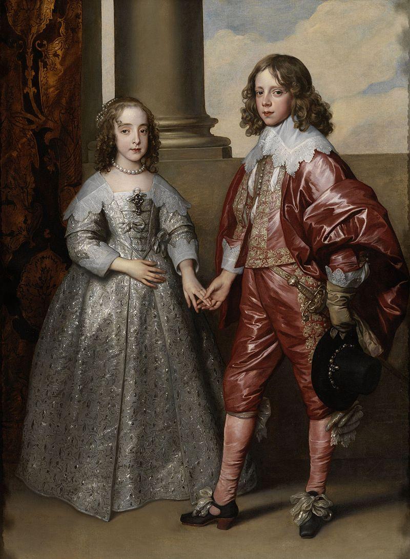 William II and Mary Henrietta Stuart