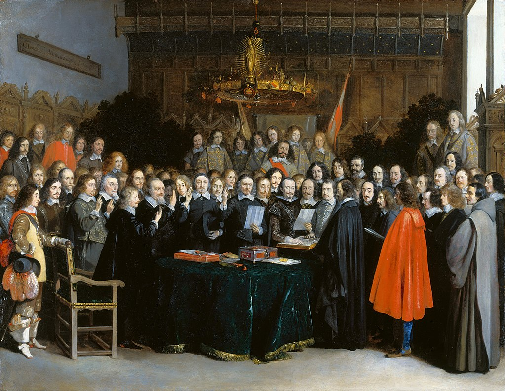 Ratification of the Treaty of Munster