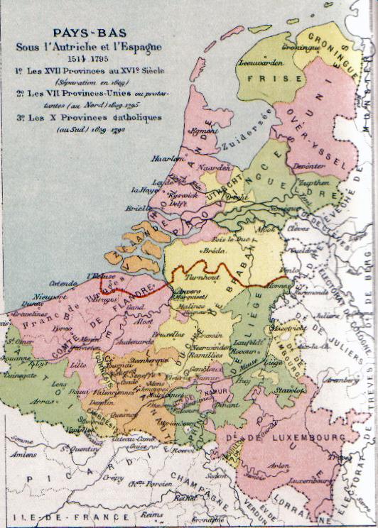 Habsburg Netherlands Pre-80 Years War
