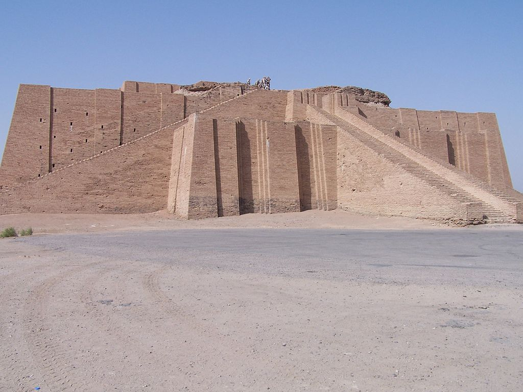 Ziggurat of Ur (reconstructed)