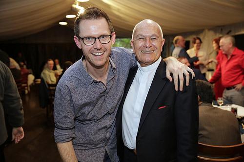 Pastor Karl Hand (Crave MCC) with Pastor Robert Clark (MCC Good Shepherd)