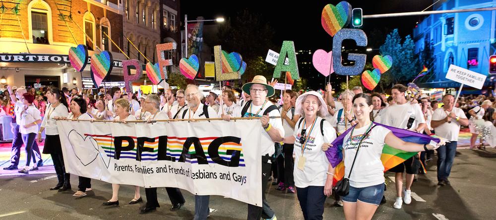 PFLAG Sydney 2016 Contingent