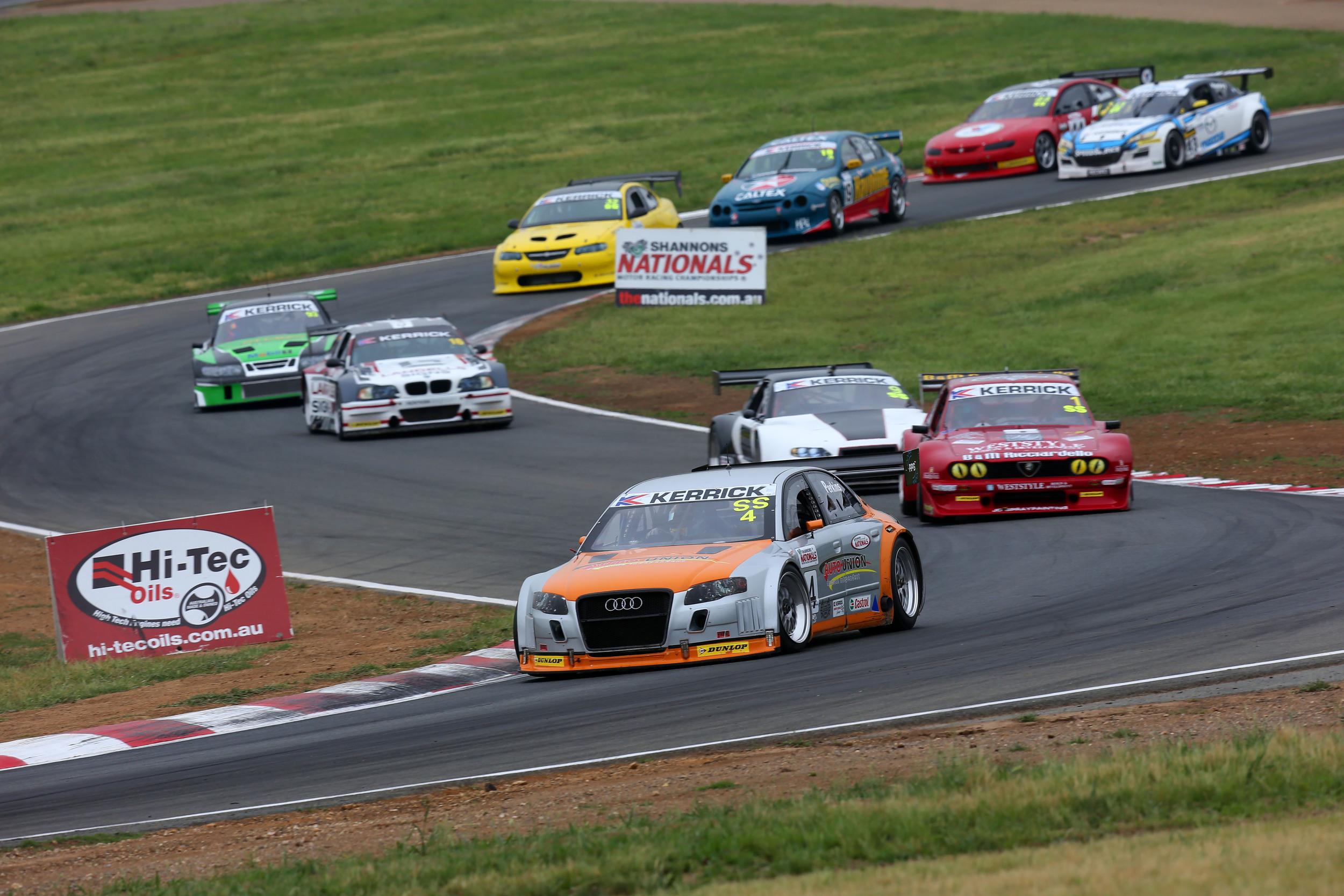 The Kerrick Sports Sedan Series will take in Sandown Raceway, Winton Raceway, Queensland Raceway, Phillip Island and Sydney Motorsport Park across 2016 (credit-KSSS/Nathan Wong)