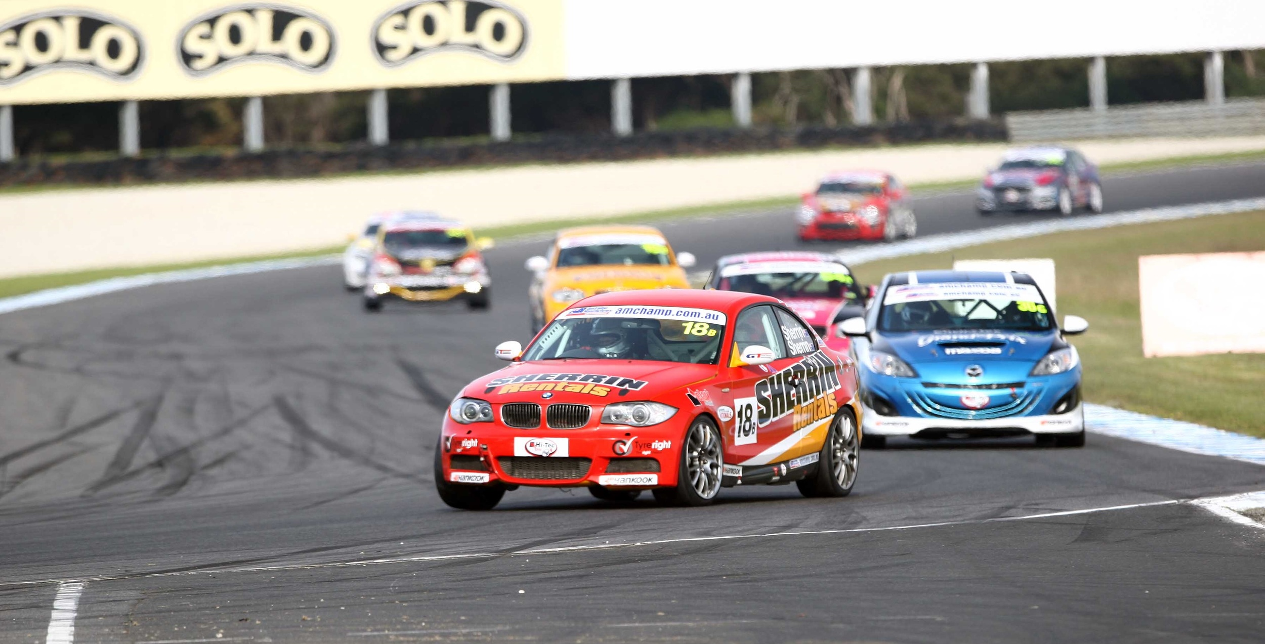 The Australian Production Car Series will hold four rounds in 2016 (credit-James Smith)