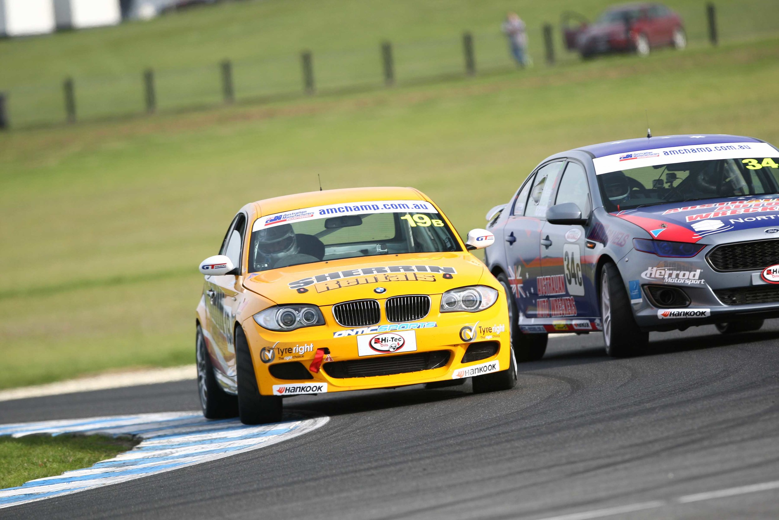 The Australian Production Car Series will visit three states across 2016 (credit-James Smith)