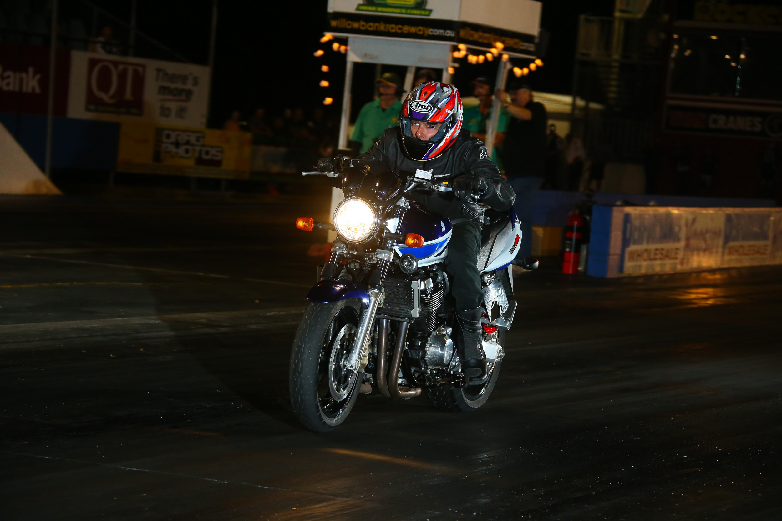 The reigning Street Bike champ Denis Ryan will also be on-deck for this weekend's first round of the 2016 Street Series (credit-dragphotos.com.au)