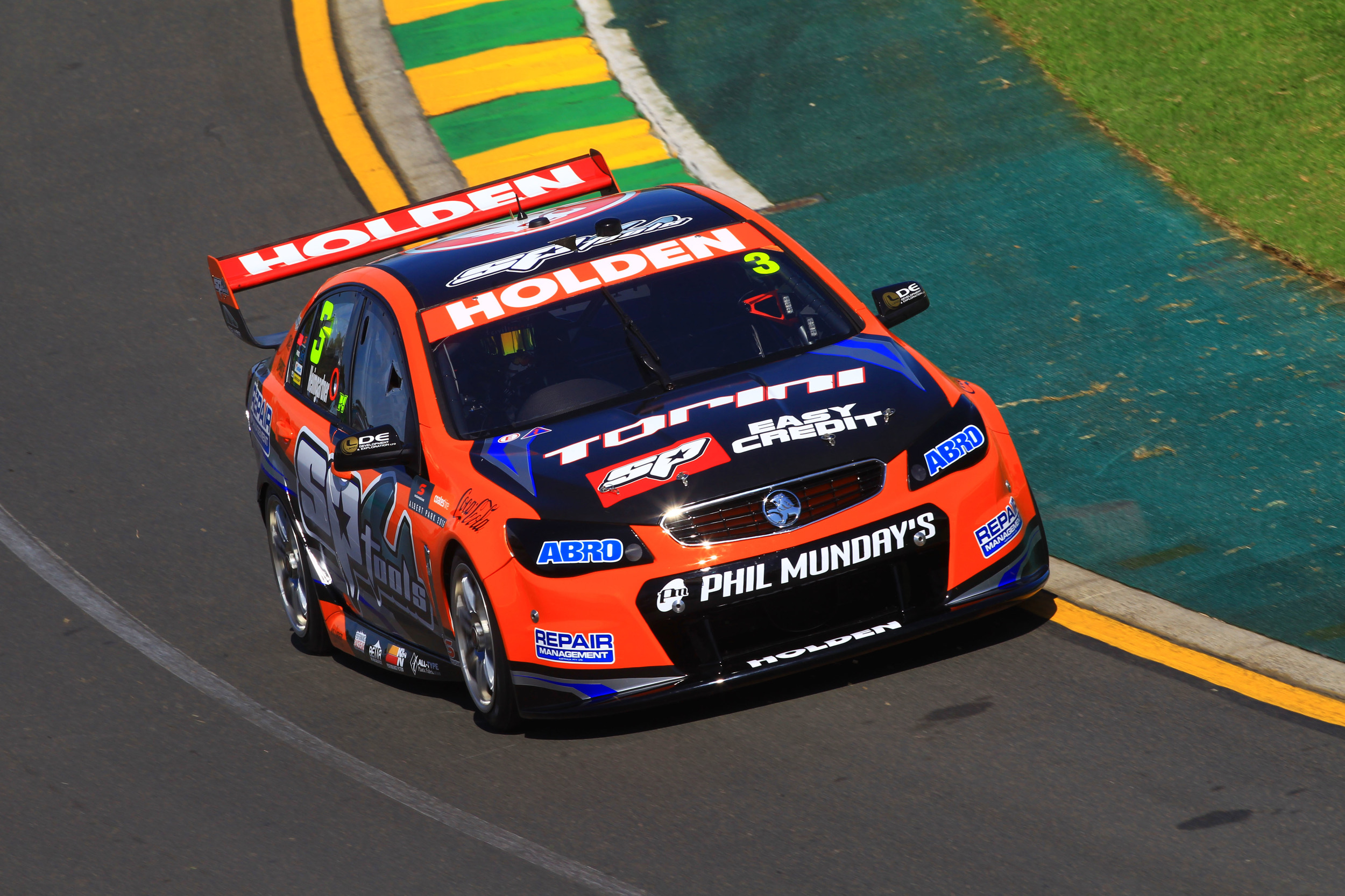 Andre Heimgartner in action at the Australian Grand Prix (credit- Dirk Klynsmith Photography)