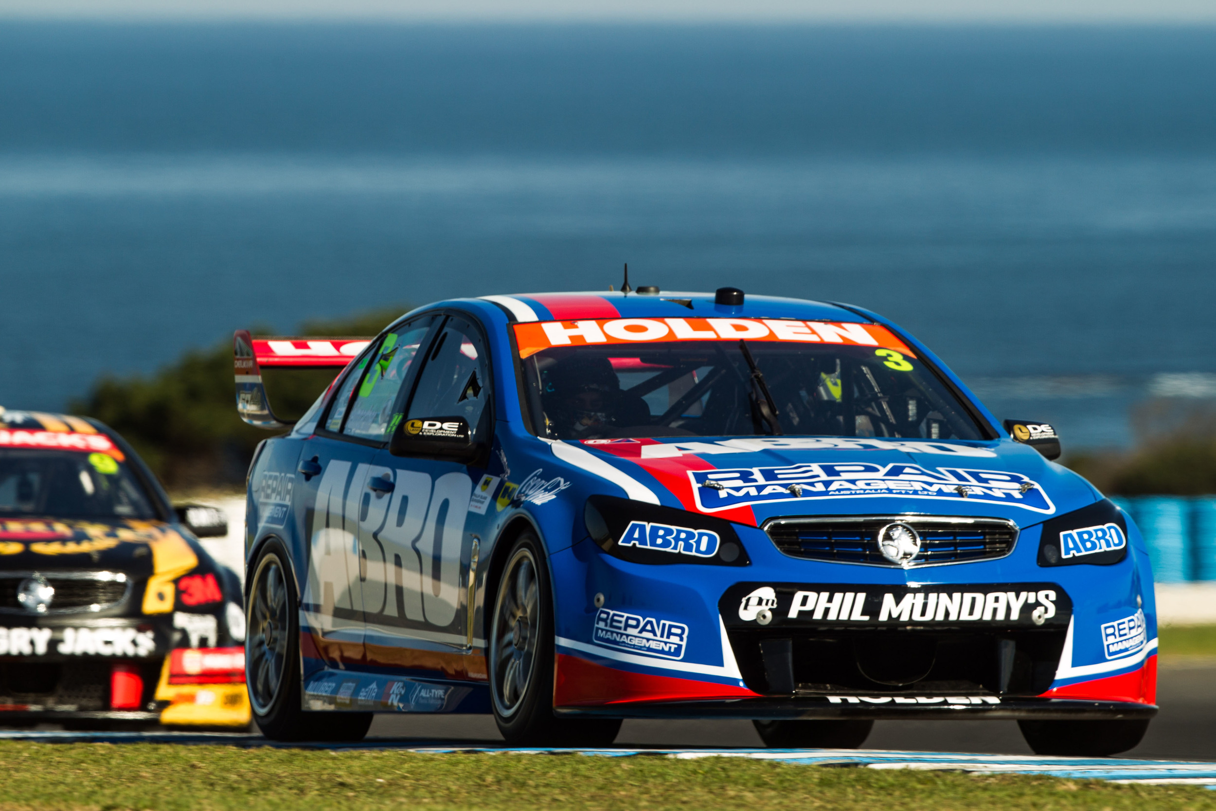 Andre Heimgartner in action at the Phillip Island SuperSprint (credit- Dirk Klynsmith Photography)