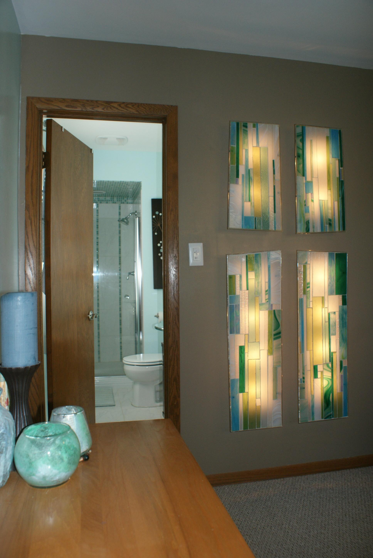 """Vine & Branches"" Illuminated Mosaic"