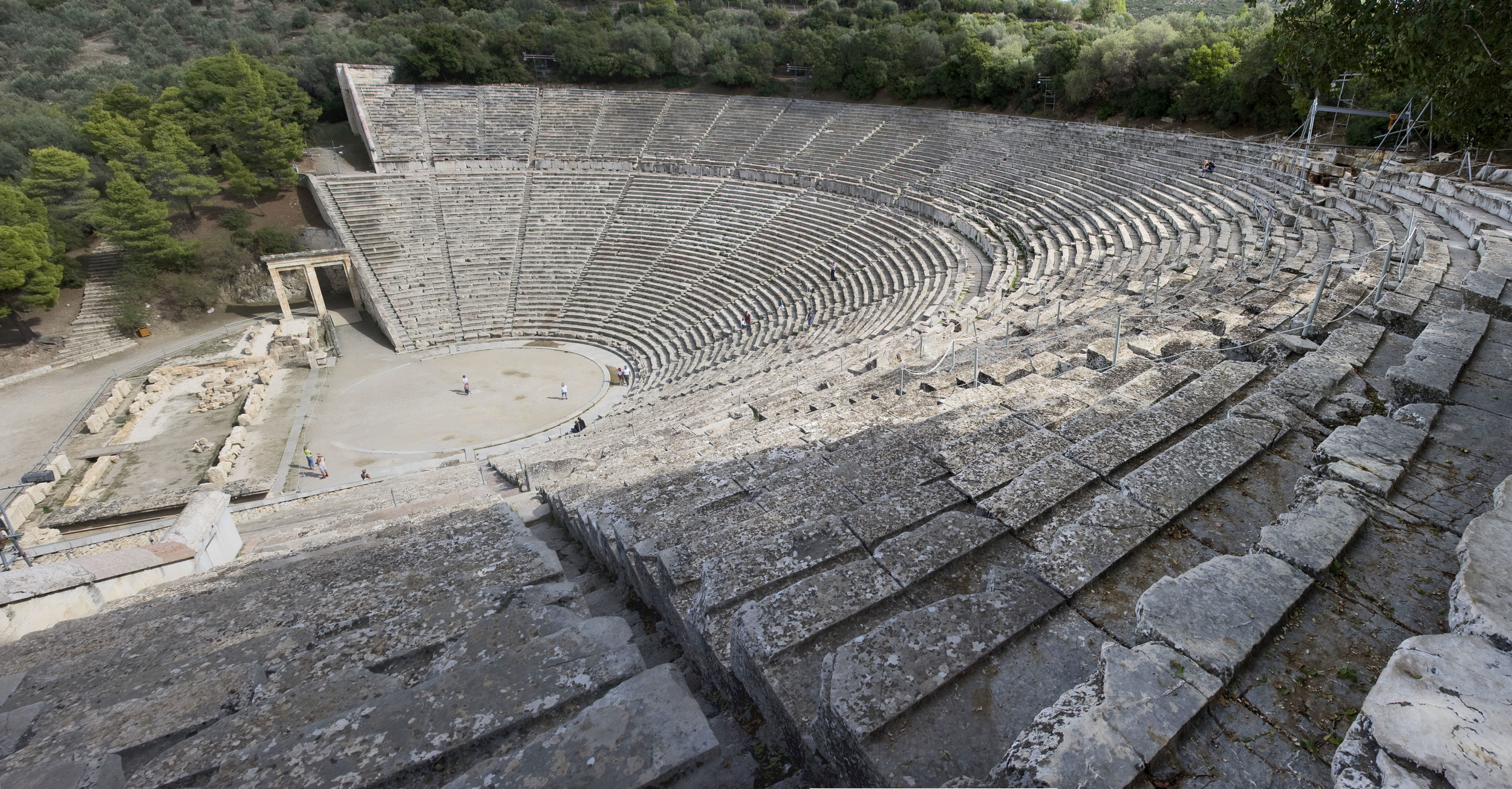 An Image of the Epidaurus Theatre.Image by Andreas Trepte