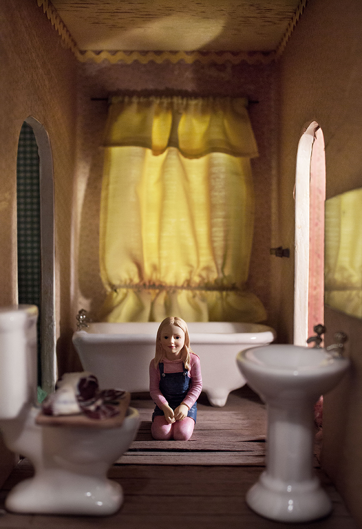 excerpt from  Portraits of a Dollhouse  series photo by Abigail Firth