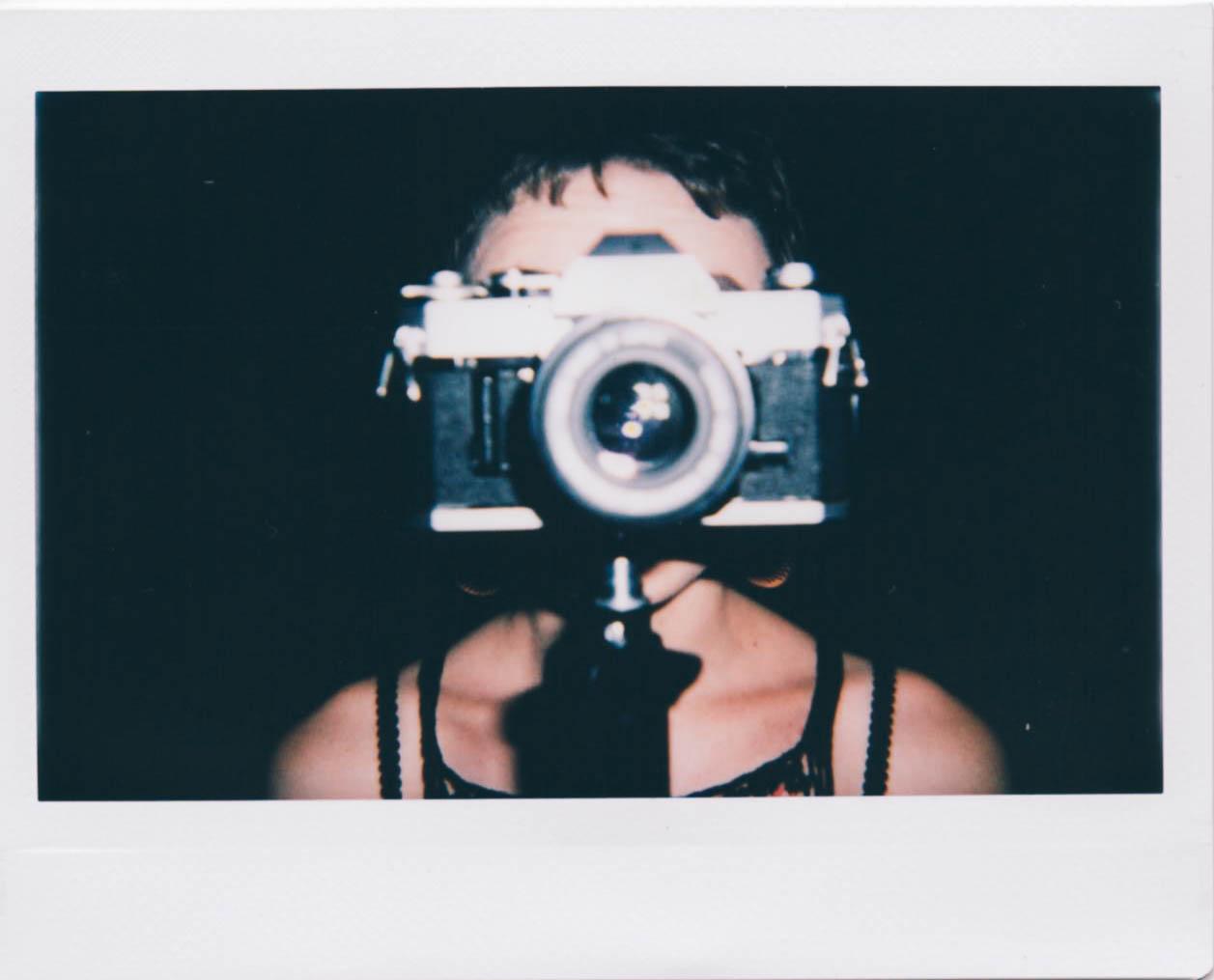 photo by Adrian Samano Instax Wide film