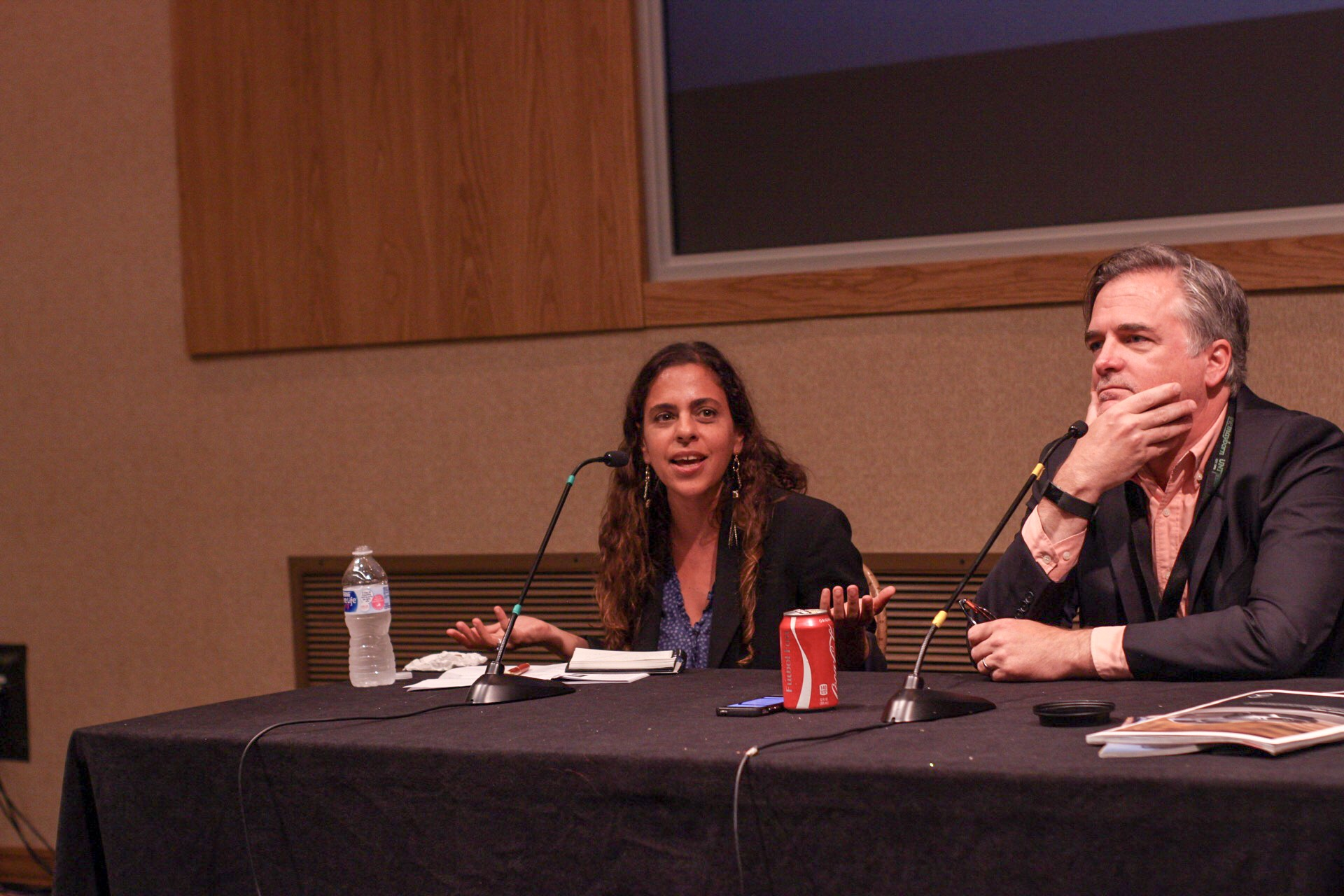 From left to right: Vanessa Grigoriadis, Stephen Rodrick