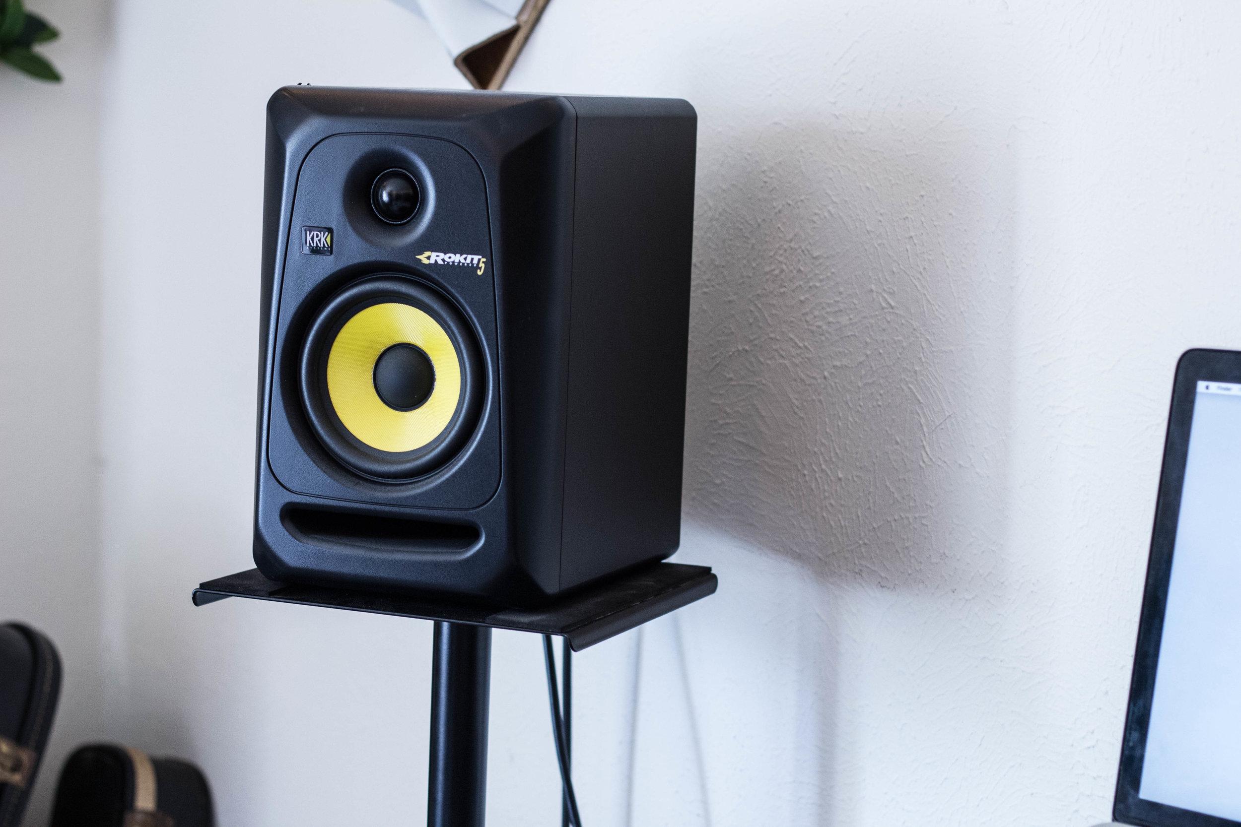 Rokit 5 KRK Speakers