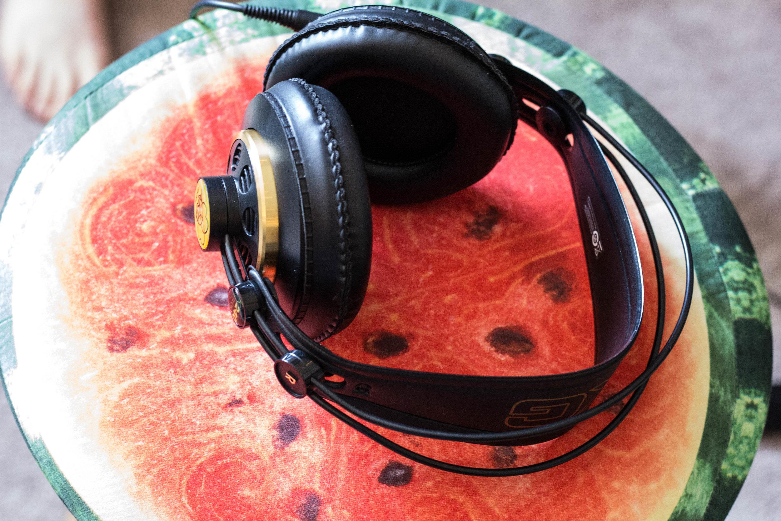 MIXING HEADPHONES -  AKG Open Back Headphones
