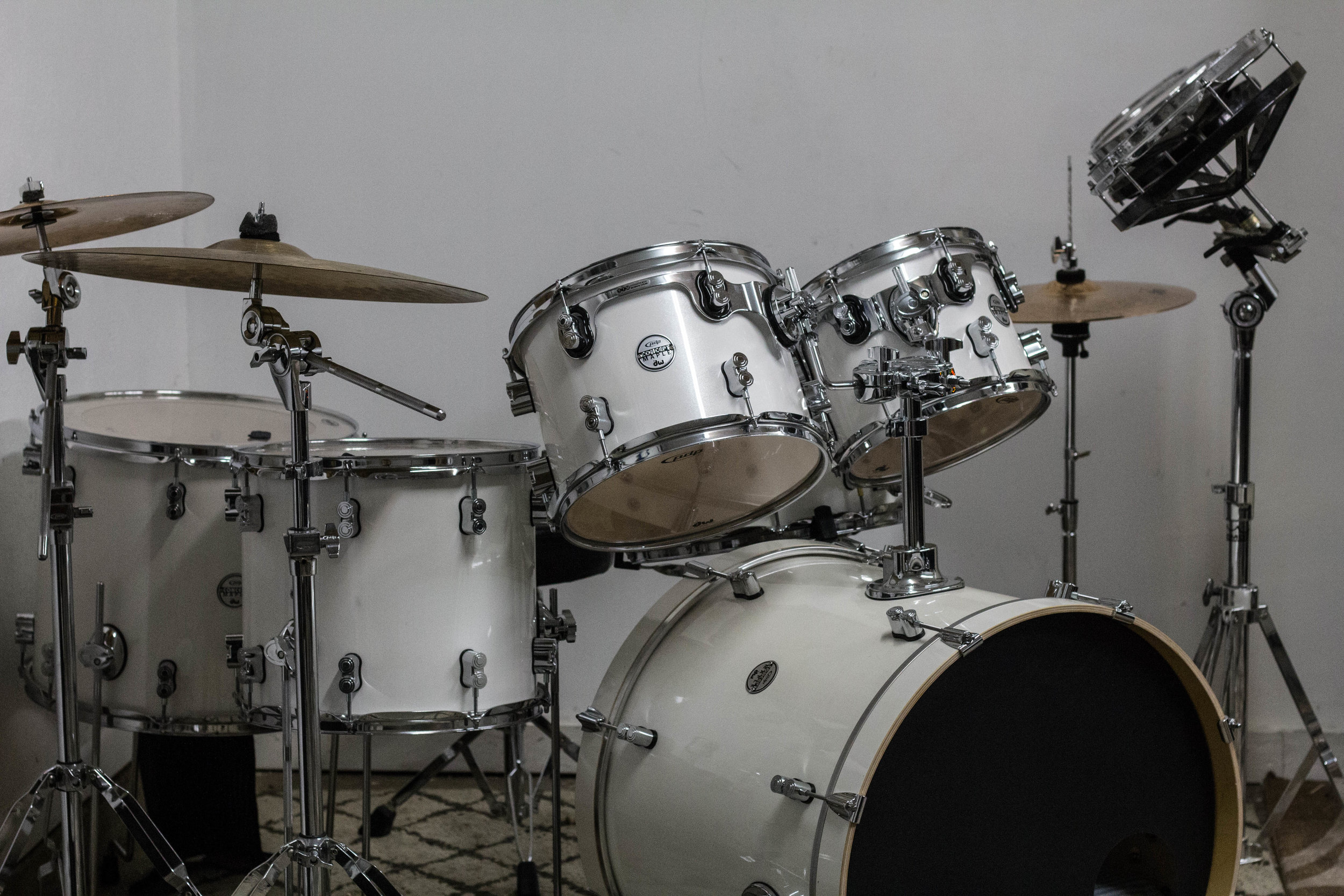 ROTOTOM -  Remo Rototoms    KIT -  PDP Concept Maple