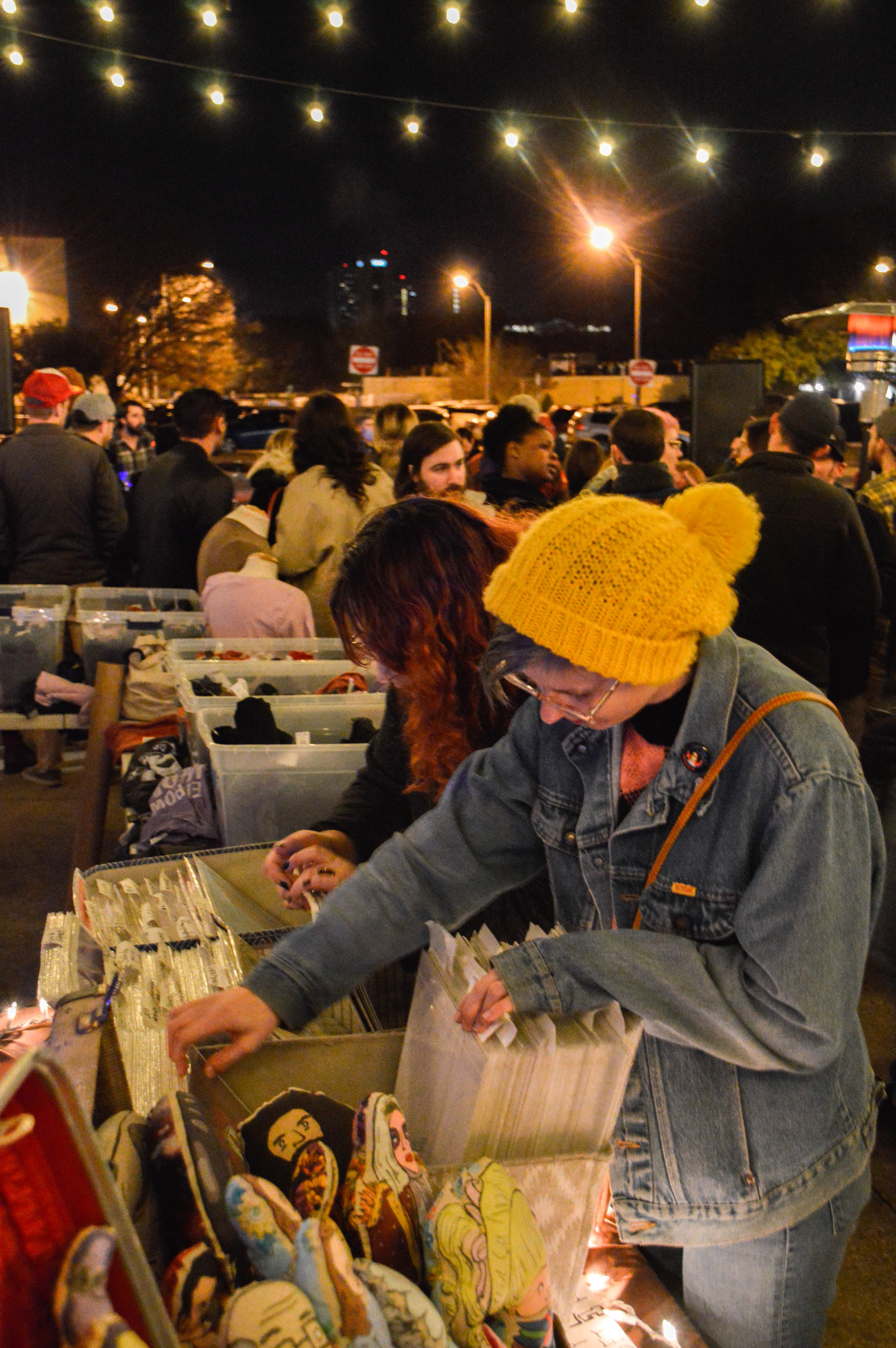 Sifting through the vendors' offerings at Stout and Shout IV