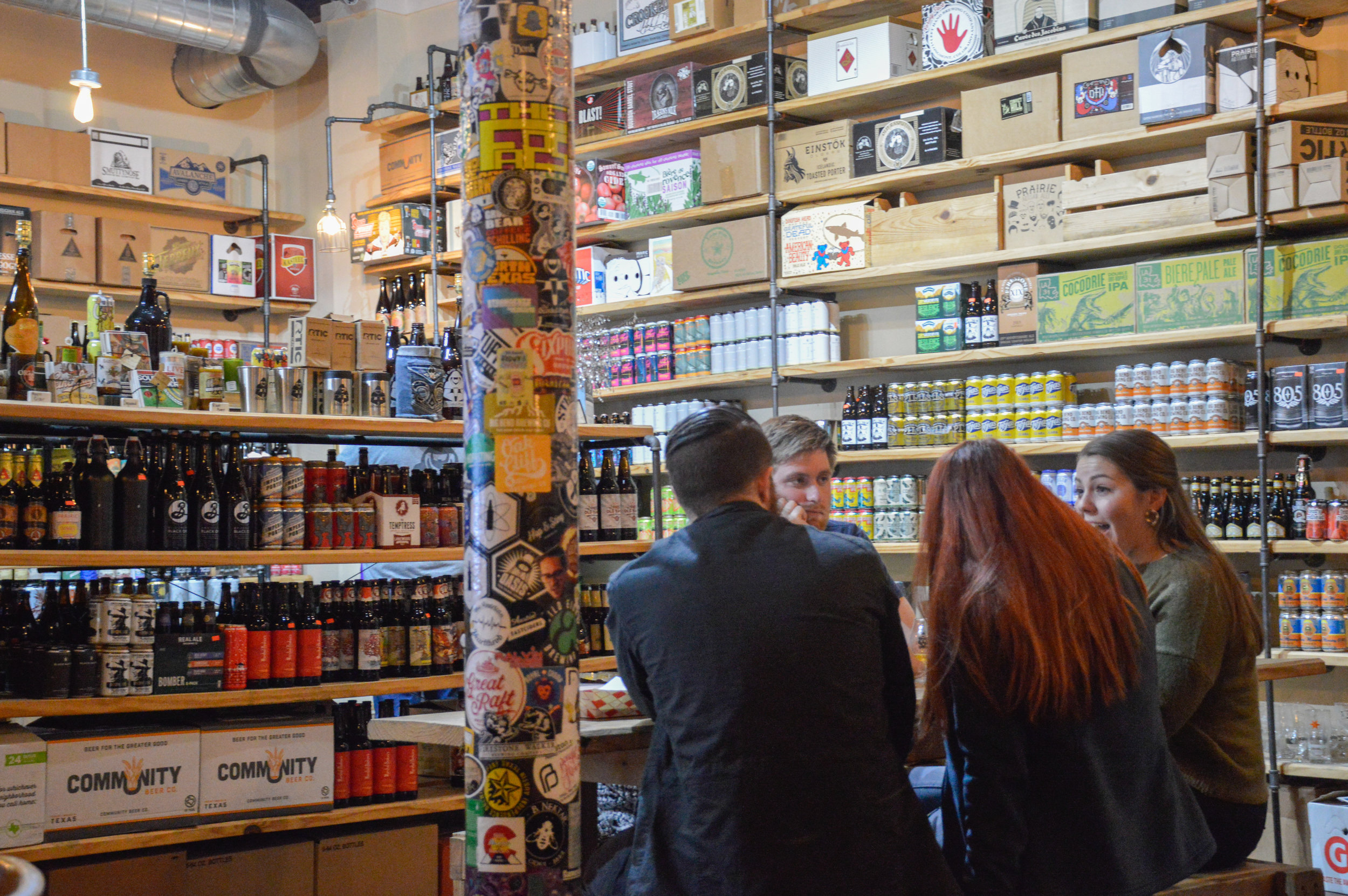 A look at the many offerings of craft beer at The Bearded Monk