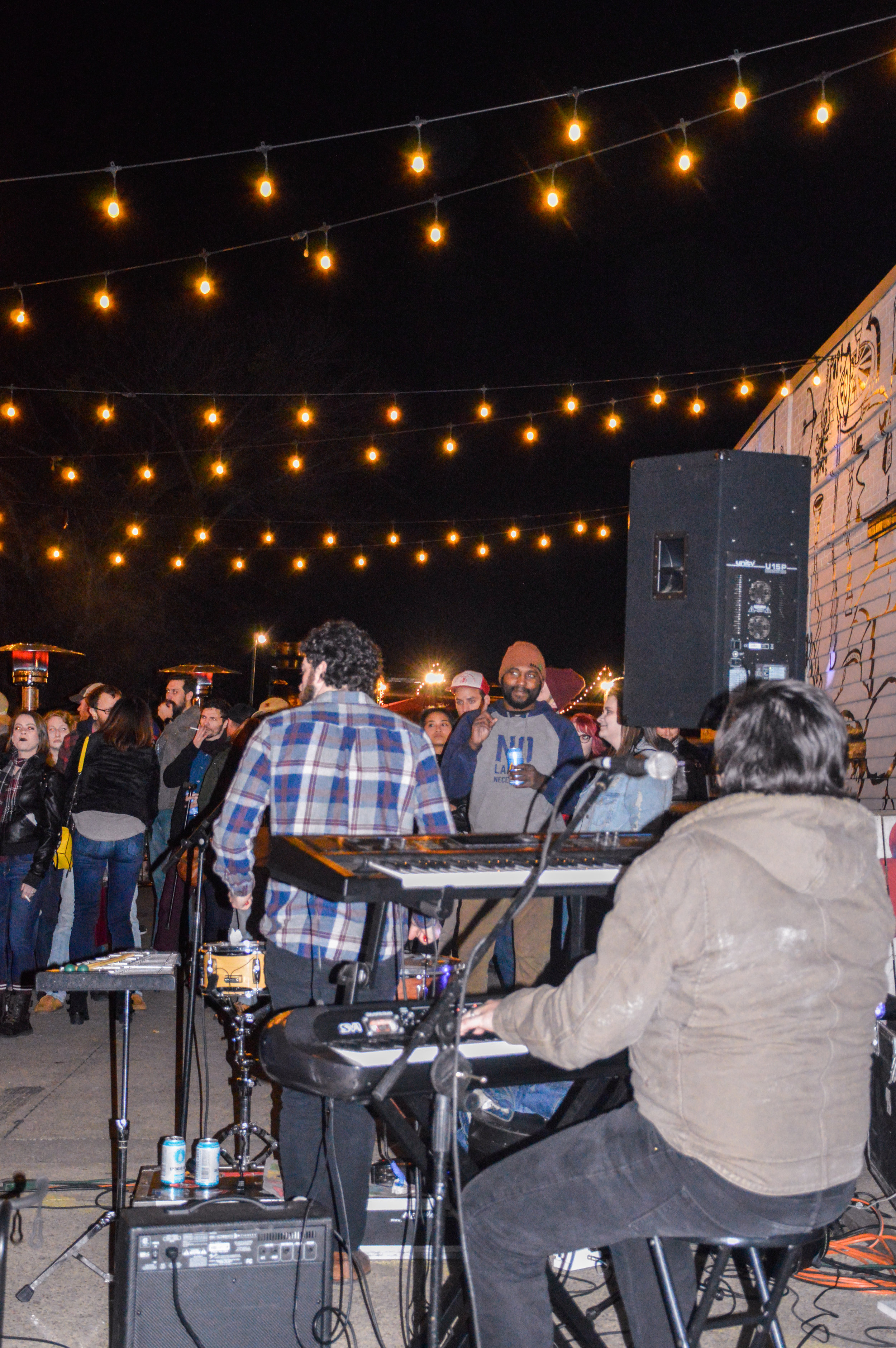 Brave Little Howl plays for the Stout and Shout crowd in Beer Alley