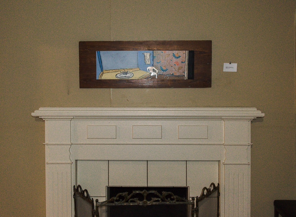 Max Raign - oil painting on wood.