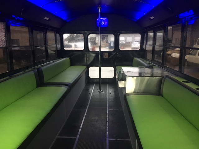 Cool Bus Houston Interior